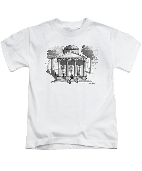 Rhode Island School Of Desire Kids T-Shirt