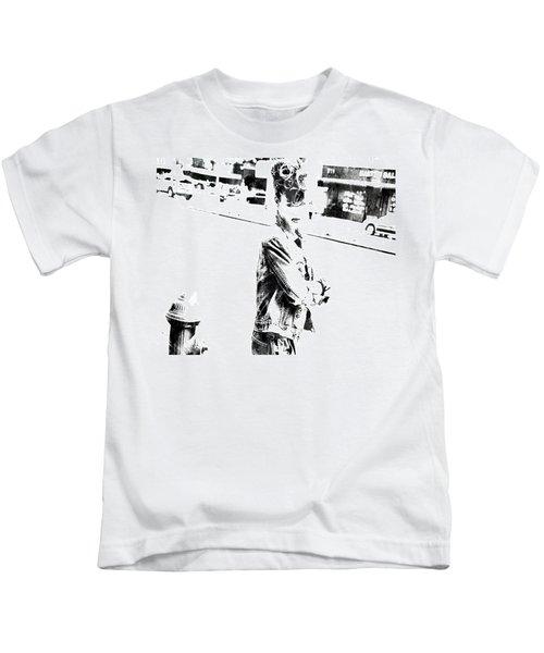 Rihanna Hanging Out Kids T-Shirt