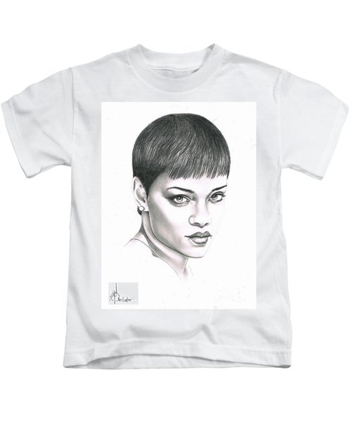 Rihanna Kids T-Shirt by Murphy Elliott