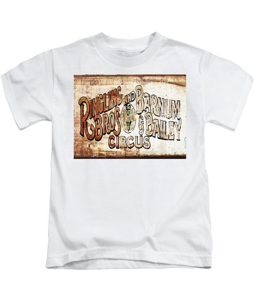 Ringling Brothers And Barnum And Bailey Circus Kids T-Shirt