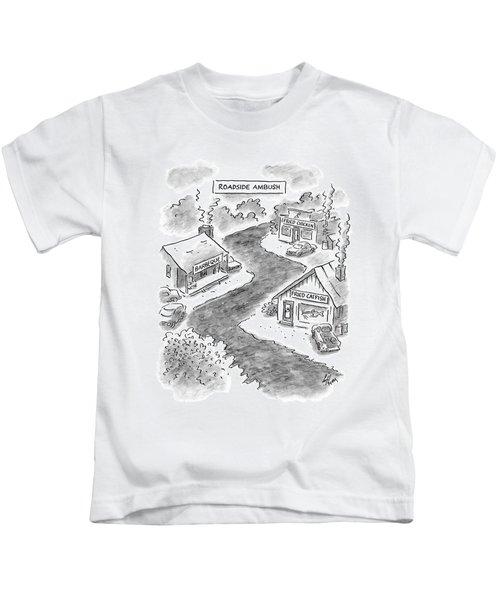 Roadside Ambush Kids T-Shirt