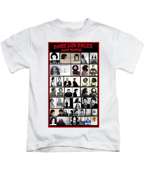 Rock And Roll's Most Wanted Kids T-Shirt