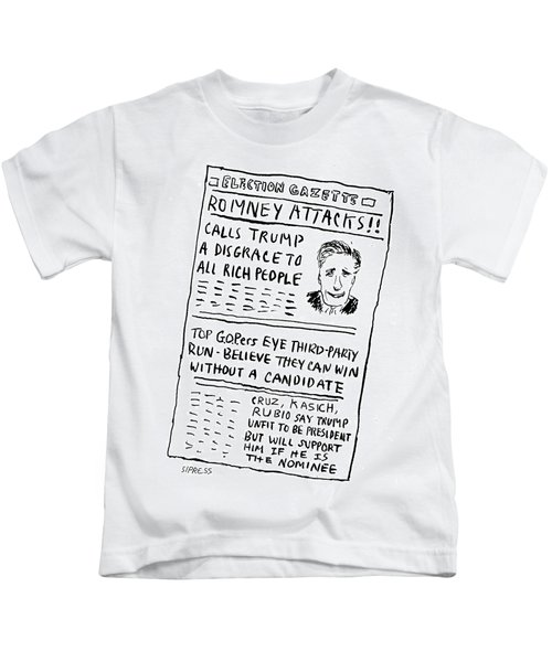 Romney Attacks Kids T-Shirt