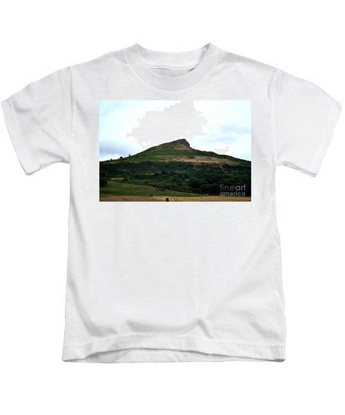 Roseberry Topping Hill Kids T-Shirt