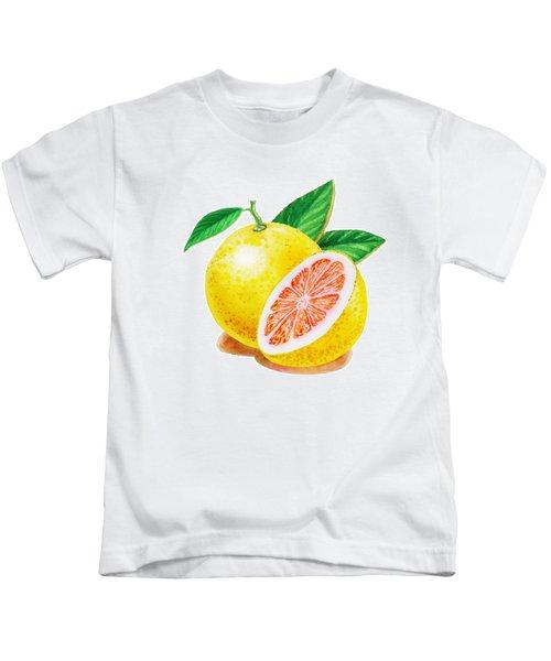 Ruby Red Grapefruit Kids T-Shirt