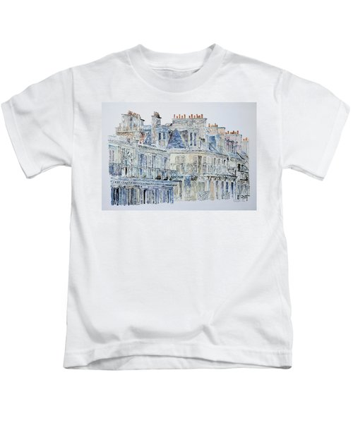 Rue Du Rivoli Paris Kids T-Shirt