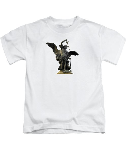 Saint Michael Kids T-Shirt