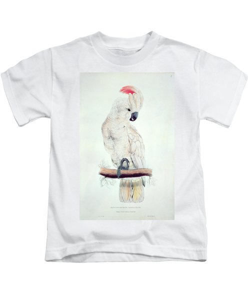 Salmon Crested Cockatoo Kids T-Shirt