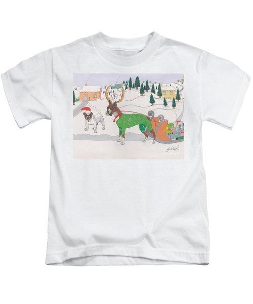 Santas Helpers Kids T-Shirt