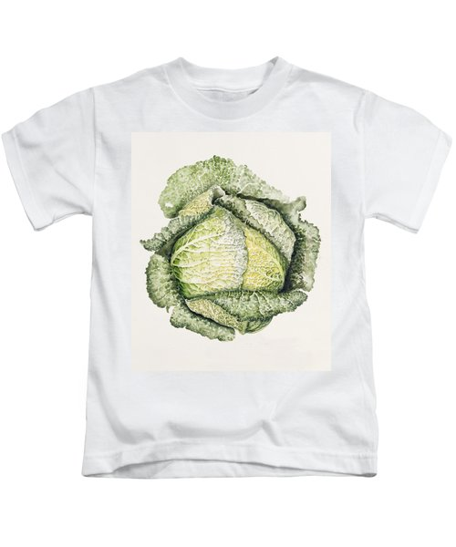 Savoy Cabbage  Kids T-Shirt
