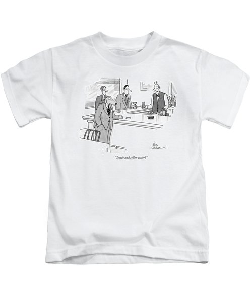 Scotch And Toilet Water? Kids T-Shirt