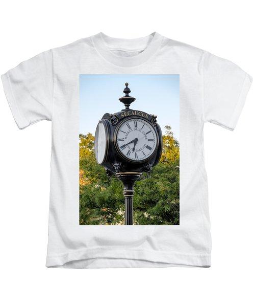 Secaucus Clock Marras Drugs Kids T-Shirt