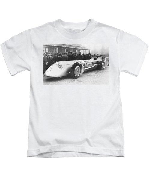 Silver Bullet Race Car Kids T-Shirt
