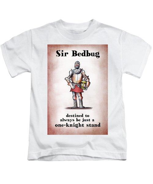 Sir Bedbug Kids T-Shirt