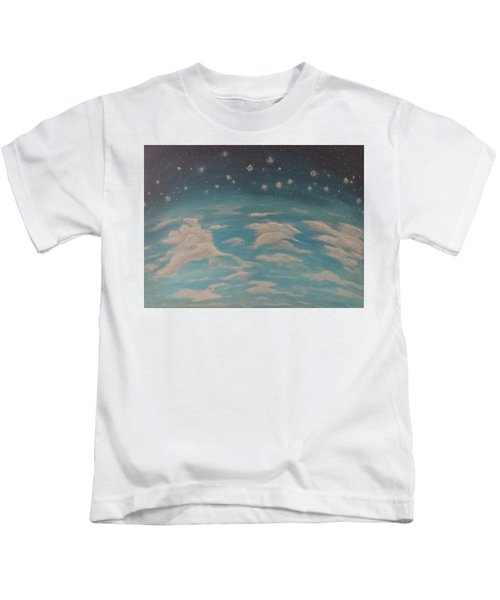 Sitting On Top Of The World Kids T-Shirt