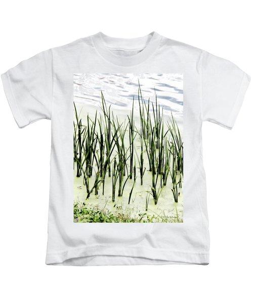 Slender Reeds Kids T-Shirt