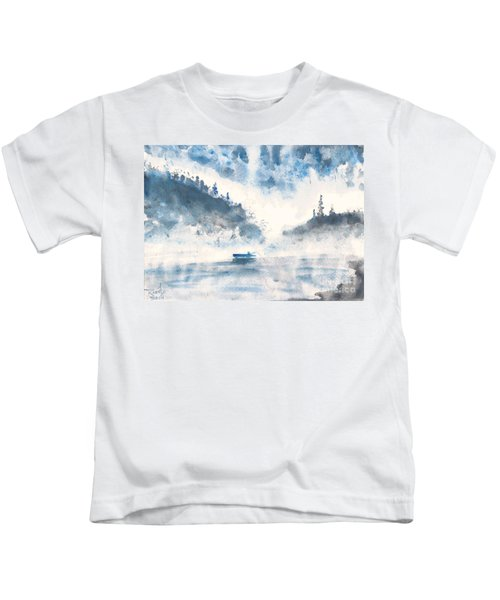 Smoke On The Water  Kids T-Shirt
