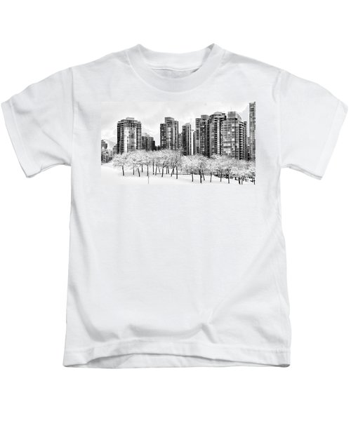 Snow In The City Kids T-Shirt