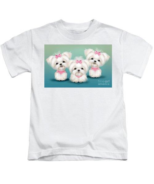 Snowflakes  Kids T-Shirt