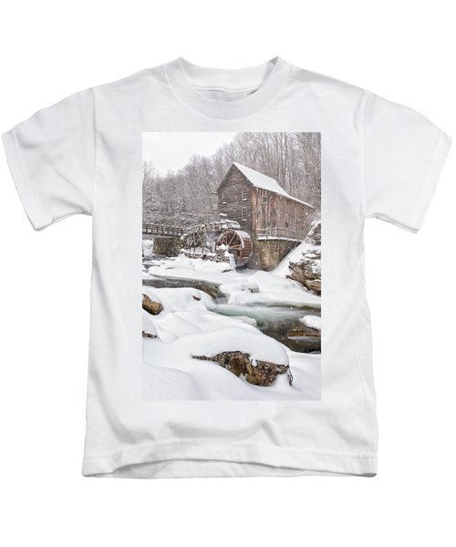 Snowglade Creek Grist Mill Kids T-Shirt