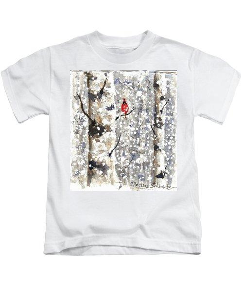 Snowy Hello Kids T-Shirt