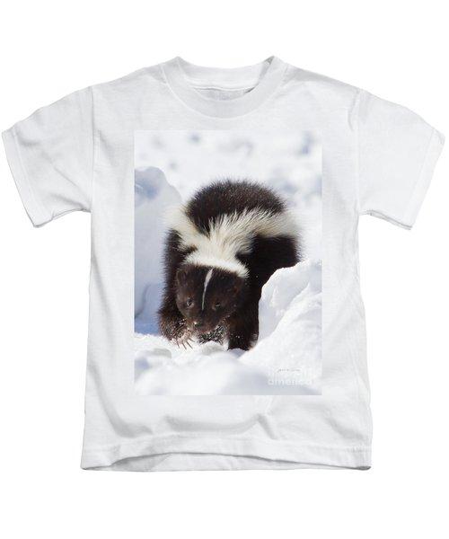 Snowy Walk Kids T-Shirt