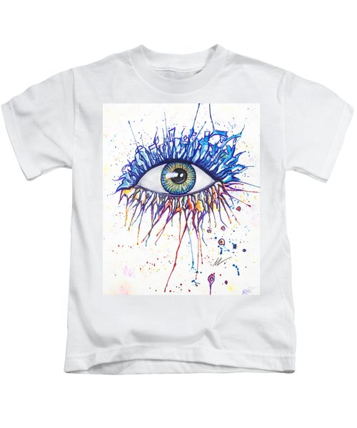 Splash Eye 1 Kids T-Shirt