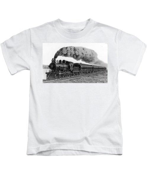 Steam Locomotive No. 999 - C. 1893 Kids T-Shirt