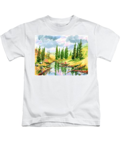 Strawberry Reservoir 2 Kids T-Shirt