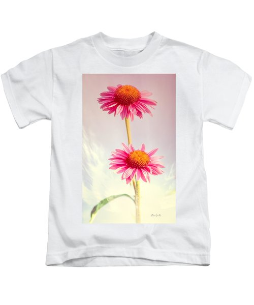 Summer Impressions Cone Flowers Kids T-Shirt