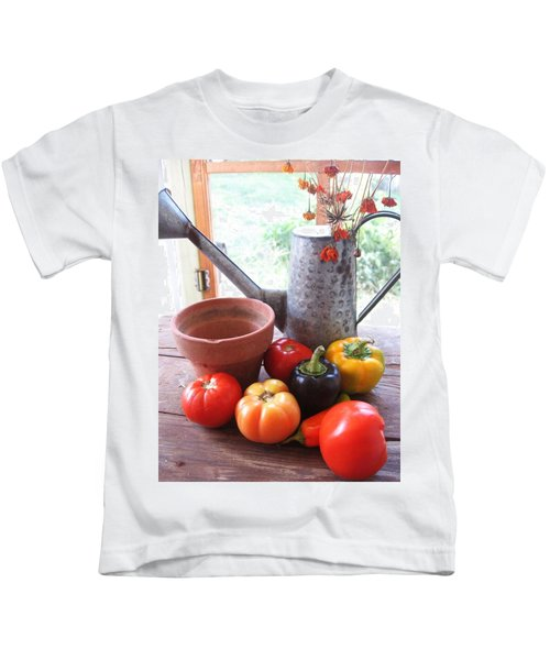 Summer's Bounty   Kids T-Shirt