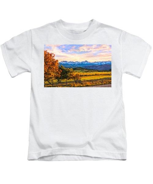 Sunset View Kids T-Shirt