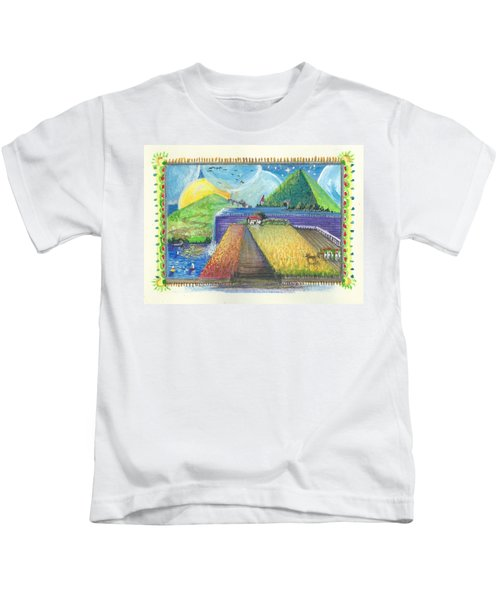 Surreal Landscape 1 Kids T-Shirt