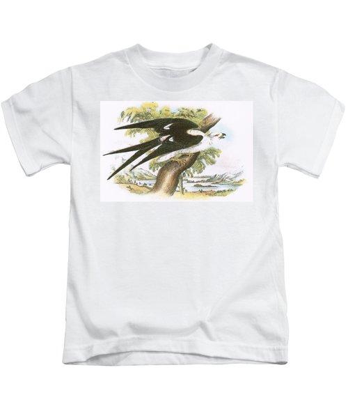 Swallow-tailed Kite Kids T-Shirt