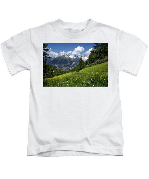 Switzerland Bietschhorn Kids T-Shirt