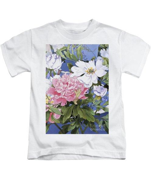 Syakuyaku Crop Iv Kids T-Shirt