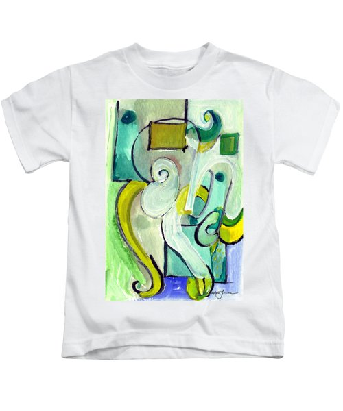 Symphony In Green Kids T-Shirt