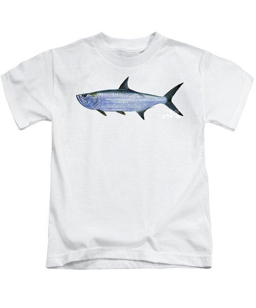 Tarpon Kids T-Shirt by Carey Chen