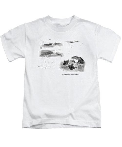 Tell Us Again About Monet Kids T-Shirt