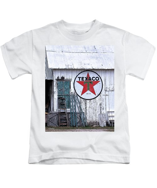 Texaco Times Past Kids T-Shirt
