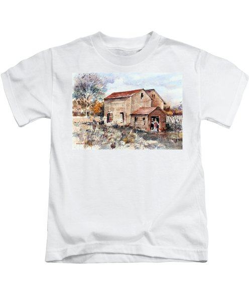 Texas Barn Kids T-Shirt
