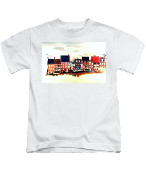 The Back Of The Strand Kids T-Shirt
