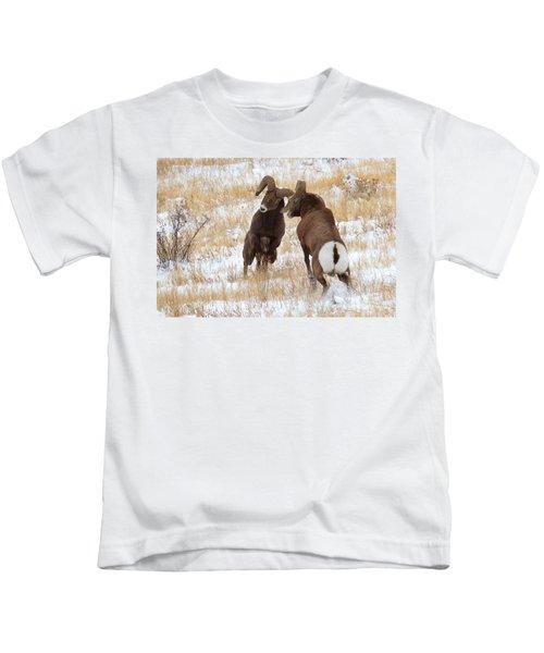 The Battle For Dominance Kids T-Shirt