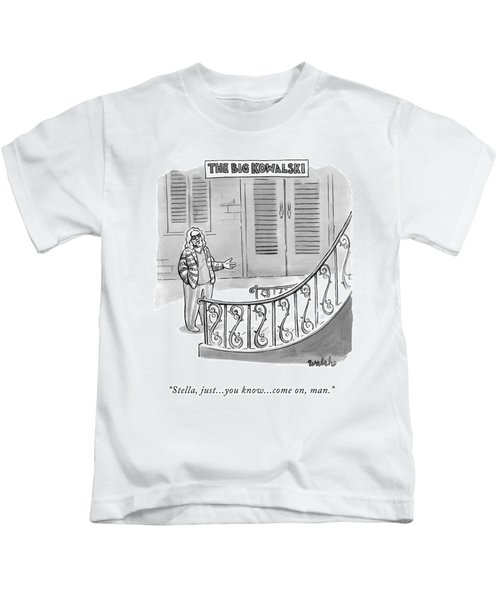 The Big Kowalski -- Main Character Of The Big Kids T-Shirt