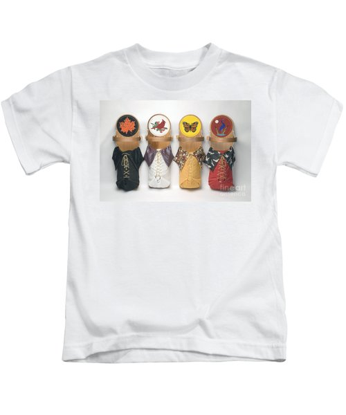 Four Seasons Cradleboards Kids T-Shirt