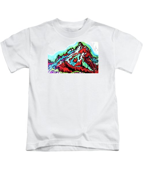 The Grand From Jackson Lake Kids T-Shirt