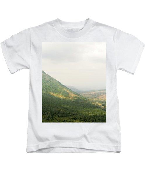 The Great Rift Valley Kids T-Shirt