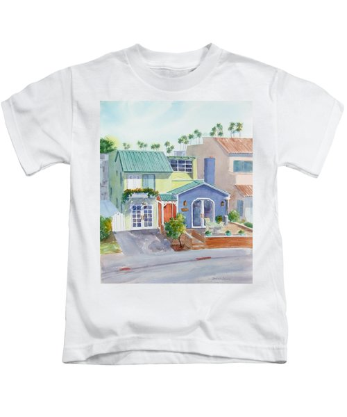The Most Colorful Home In Belmont Shore Kids T-Shirt