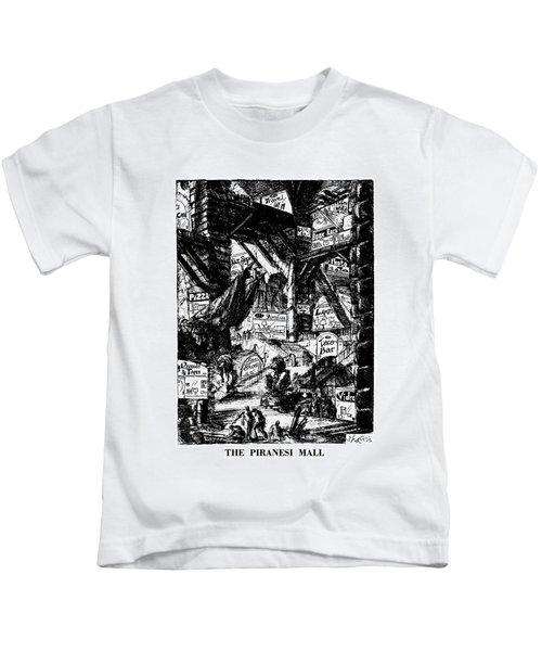 The Piranesi Mall Kids T-Shirt