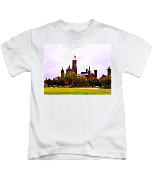 The Smithsonian Kids T-Shirt by Bill Cannon